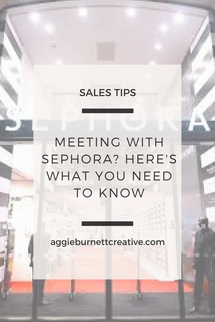 meeting with sephora
