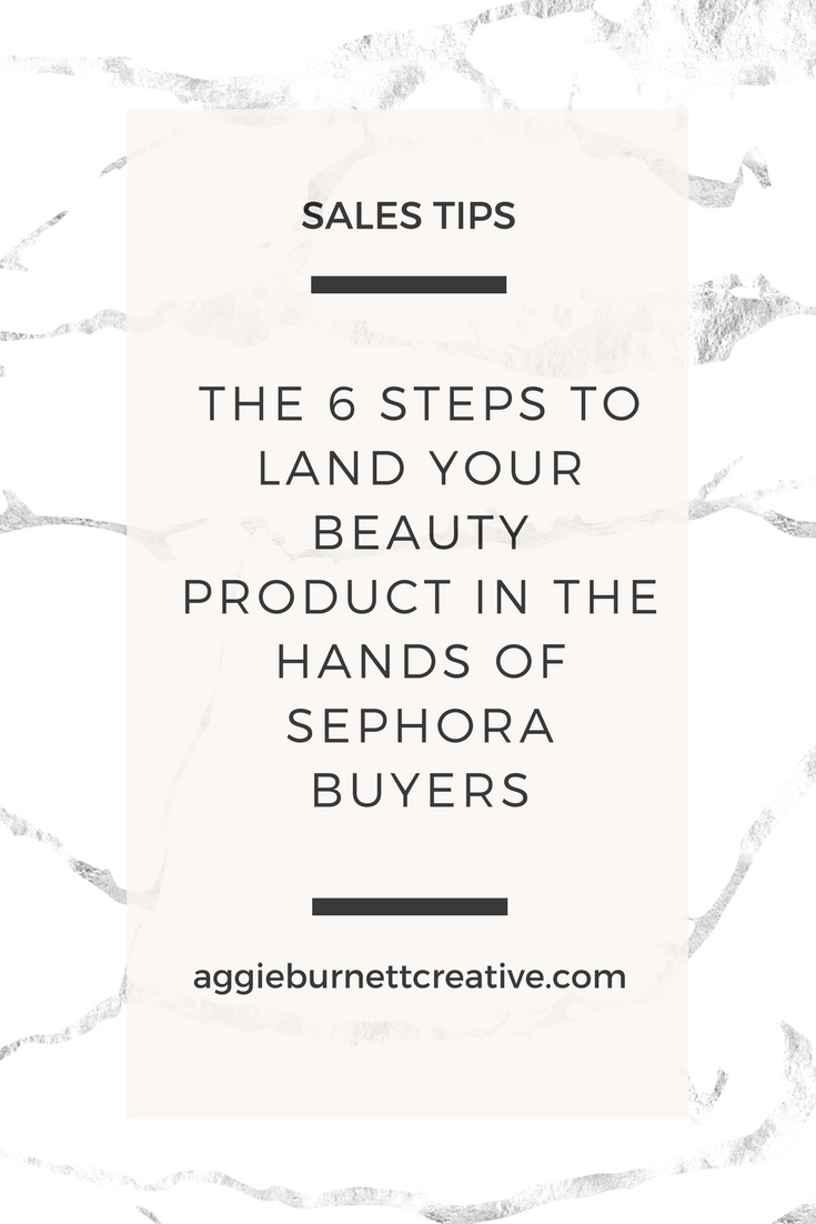 sephora buyers, sephora pitch, pitching your product