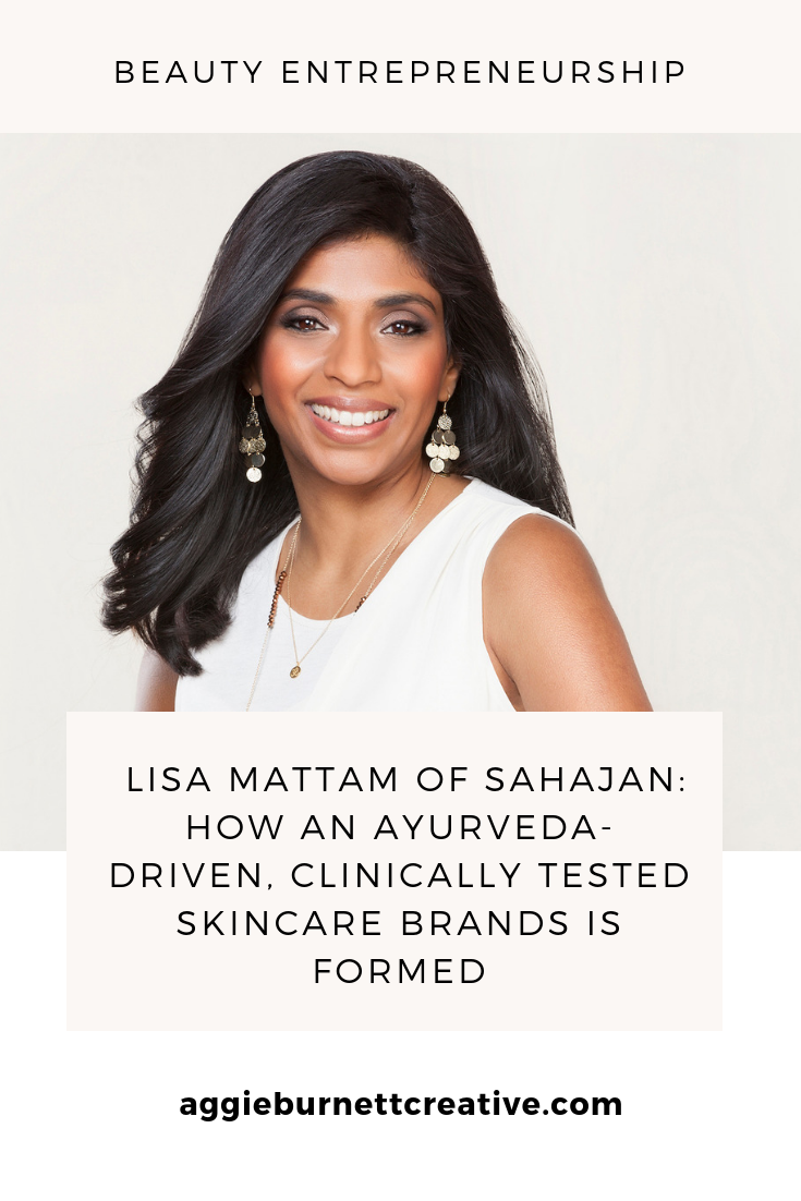 Lisa Mattam Quits Pharamceutical Sales 9-to-5 to Start Skincare Brand, Sahajan