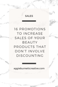 Increase Sales of Your Beauty Products