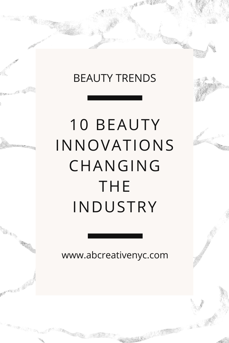 innovations in the beauty industry