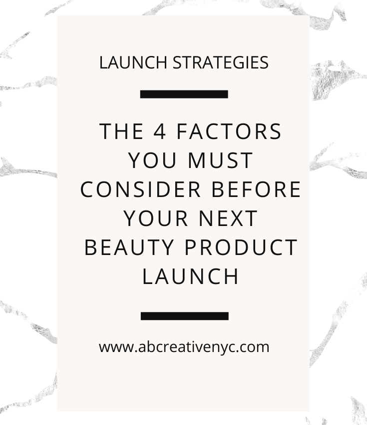 beauty product launch